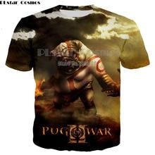 PLstar Cosmos date impression 3D t-shirt dieu de la guerre à manches courtes mode t-shirt dété t-shirts femmes hommes homme Camisetas