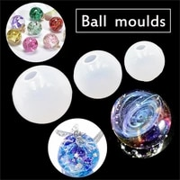 stereo spheric craft silicone mould epoxy resin mold for jewelry jewelry making mold resin decorative silicone mold for resin