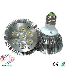 (10 PCS/Lot) Bridgelux puce boîtier épais 7 W 9 W 12 W 15 W Par38 LED ampoule Par30 lumière LED Dimmable COB plafonnier Spot