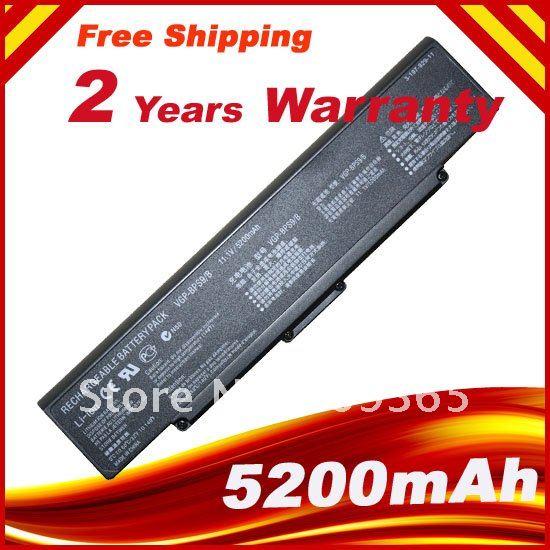 VGP-BPS9/B Аккумулятор для ноутбука Sony VAIO BPS9 VGP-BPS9 VGP-BPS9A/B VGP-BPS9/S VGP-BPS9A/S VGN-AR61E VGN-SZ95US