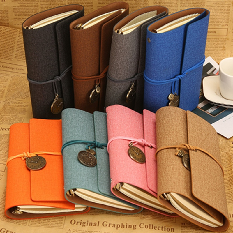 New Arrivals Field Notes Journal Cover Genuine Leather Notebook Planner Handmade Travel Agenda Pocket Diary Vintage Stati