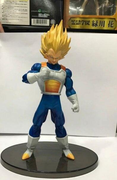 Banpresto de Dragon Ball Z Super Saiyan Vegeta esculturas de gran Budoukai 6 Acción Especial figura 17cm