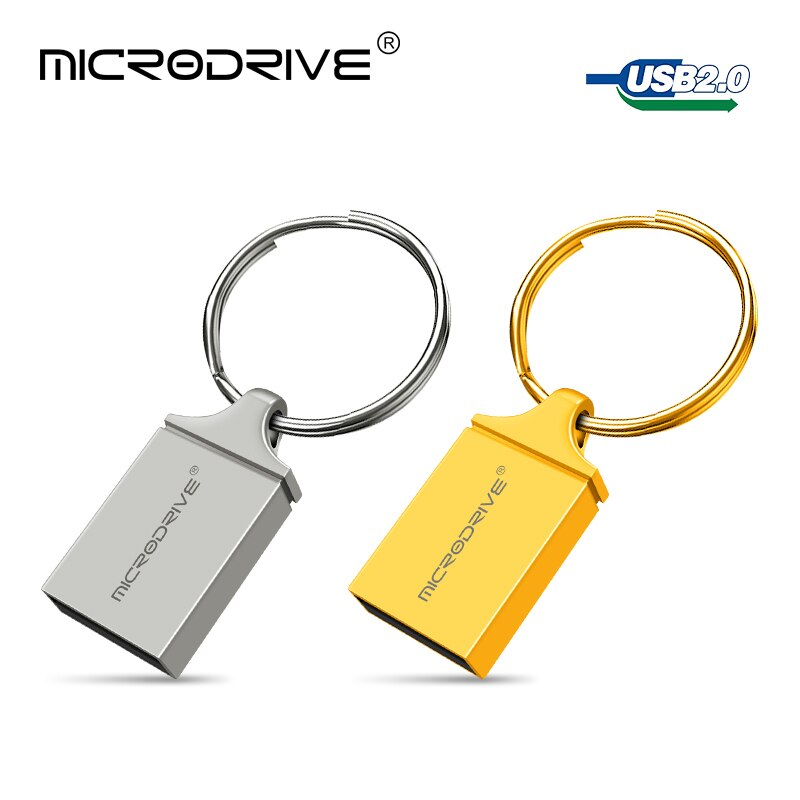 De Metal USB Flash Drive 8 GB 16GB 32GB 64GB 128 GB Pen Drive OTG 8 16 32 64 128 GB Pendrive unidades de memoria extraíble U disco