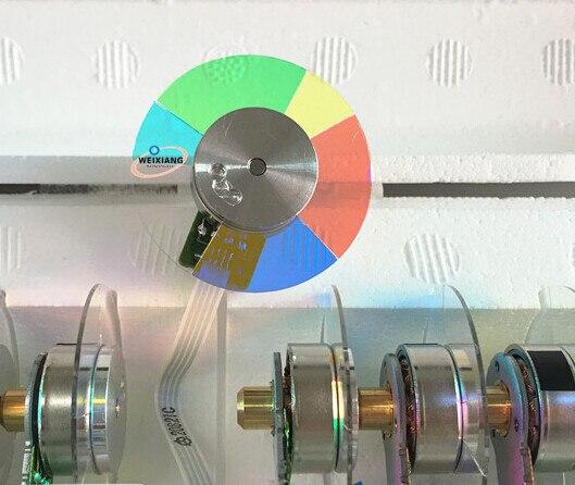 عجلة ملونة لجهاز العرض DELL 1210S ، 6 أجزاء 40 مللي متر