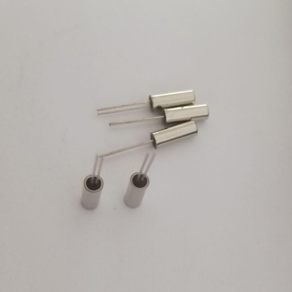 10 Uds DT-206 en línea cristal cilíndrico 2*6 De resonador 25MHZ 25.000MHZ 25M horquilla resonador