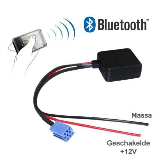 Bluetooth-адаптер для AUDI, SKODA, SEAT, VOLKSWAGEN, бекера PHILIPS и BLAUPUNKT автомагнитолы с 8-PIN подключения AUX