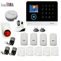 SmartYIBA     systeme dalarme de securite domestique sans fil  wi-fi  GSM  Anti-vol  camera IP  Android IOS  capteur de mouvement residentiel