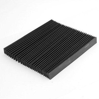 Funda protectora de caucho sintético rectangular para polvo de acordeón desplegada 100cm x 19cm x 2cm doblada 19x6x2 cm