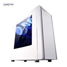 I3 7100 Litri 8100 Computer Host Ufficio Gioco Macchina di Assemblaggio Del Computer FAI DA TE Custodie UN Set Completo 240GB Hard Drive capacità di DDR4