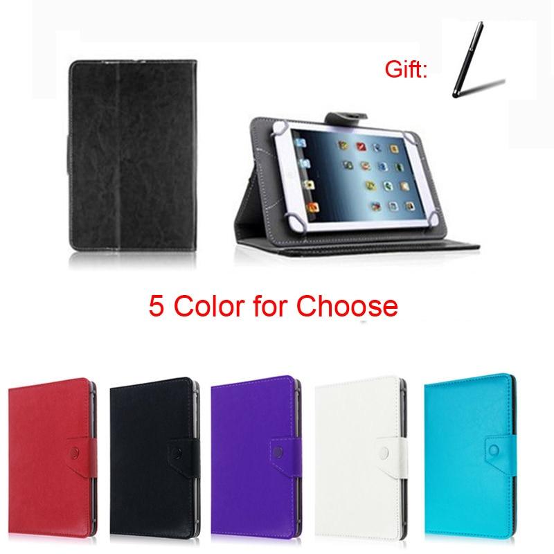"Capa de couro para tablet android iconia one, capa B1-830/B1-810 8 ""Polegada universal"