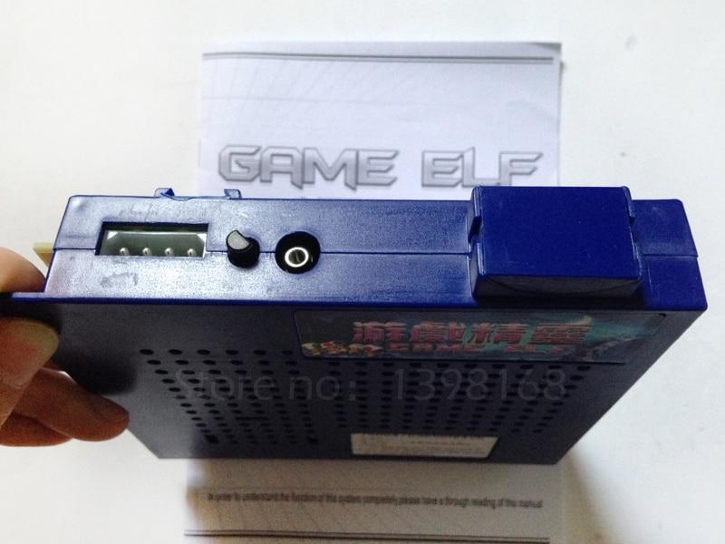 Jamma jeu elf 412 en 1 Multi classique/jeu Vertical pcb/prend en charge CGA et VGA