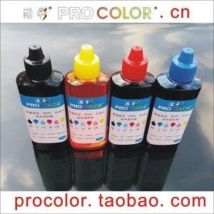 GT51 GT52 GT 51 52 Original Ink tank CISS refillable dye ink Refill Kit for HP DeskJet GT5810 GT 5810 310 410 318 418 printers