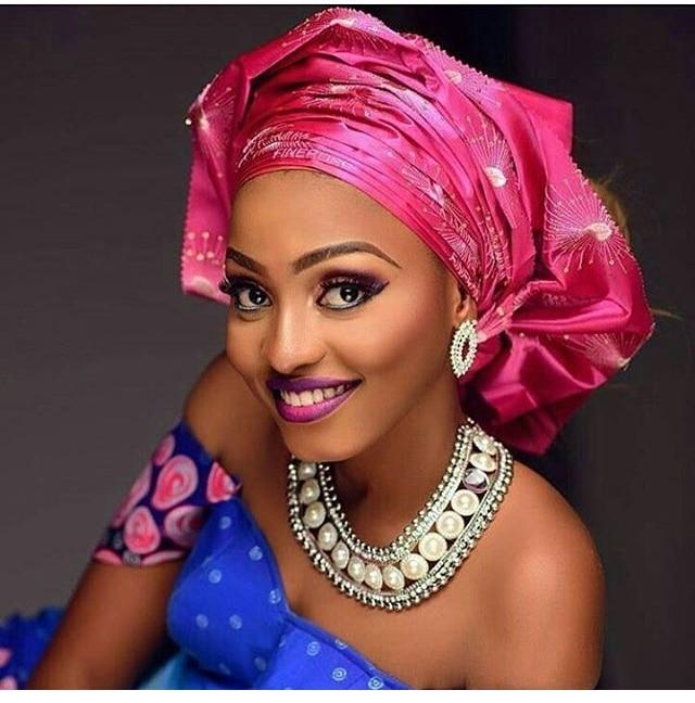 Sego-couvre-chef Gele africain 2 pièces/paquet   Pour fête et mariage plusieurs couleurs DHL, livraison gratuite, offre spéciale