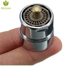 Mrosaa robinet de commande One Touch laiton   1 pièce aérateur robinet déconomie deau, robinet aérateur fil masculin 23.6mm bulbleur purificateur arrêt
