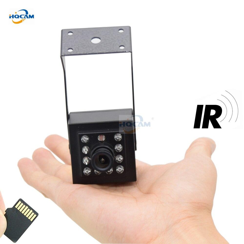 HQCAM Audio 720P 960P 1080P visión nocturna onvif P2P RTSP interior mini WIFI IP Cámara nido pájaro ver cámara web camhi