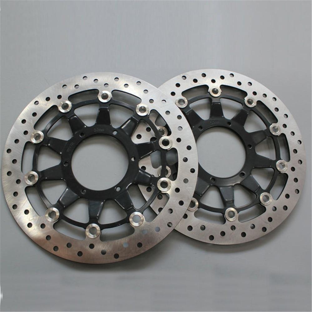 Disque Rotor de frein flottant pour Honda   2 pièces, frein flottant avant de moto de haute qualité, pour Honda CBR1000 2008 2009 2010 2011 2012 CBR 1000 08 09 10 11 12