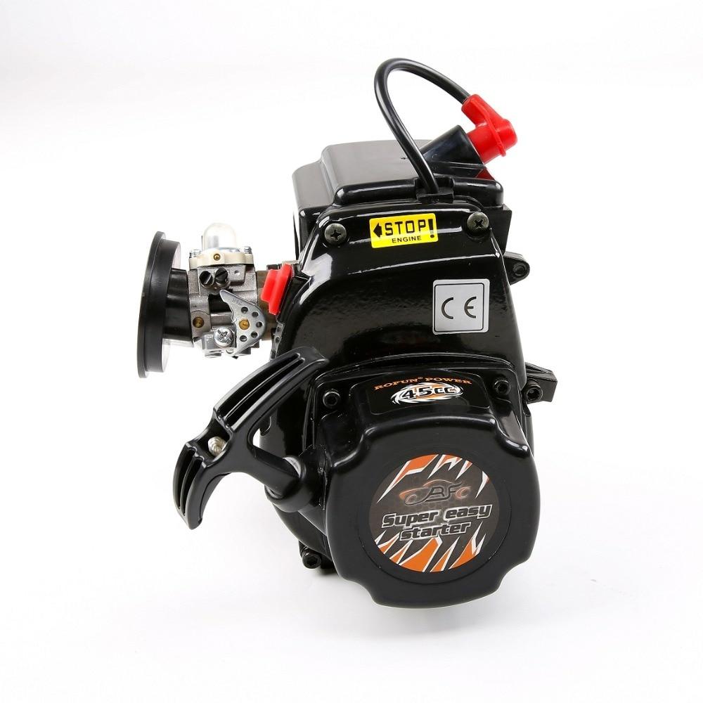 High performance 45CC 4 bolts Motor Gasoline Engine fit for  1/5 HPI BAJA 5B 5SC 5T