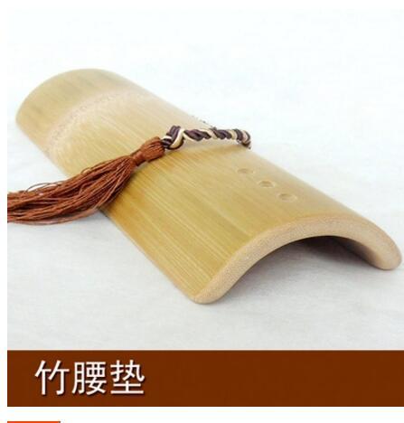 الخيزران الخشب الصلب وسادة الخصر قطني النوم وسادة مقعد انحناء النوم السرير الفراش العلاج قطني وسادة