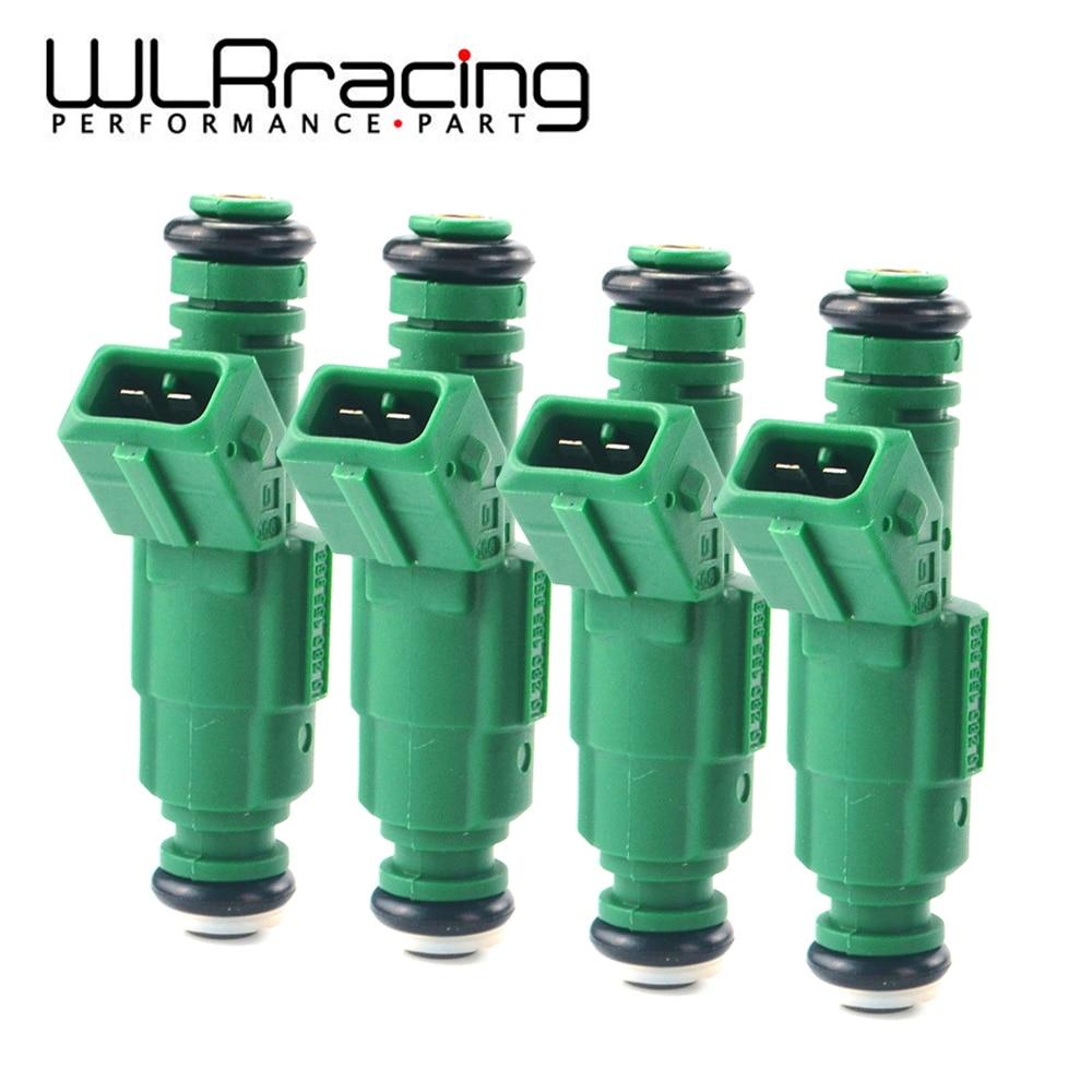 4 adet/grup yüksek akış 0 280 155 968 yakıt enjektörü 440cc volvo için Commodore VN Audi S4 yakıt enjektör 0280155968