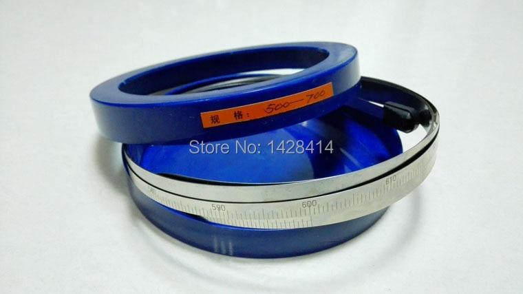 Cinta de diámetro exterior de acero inoxidable de 15-115mm/cinta PI/medidor periférica de medición/lectura de diámetro directo