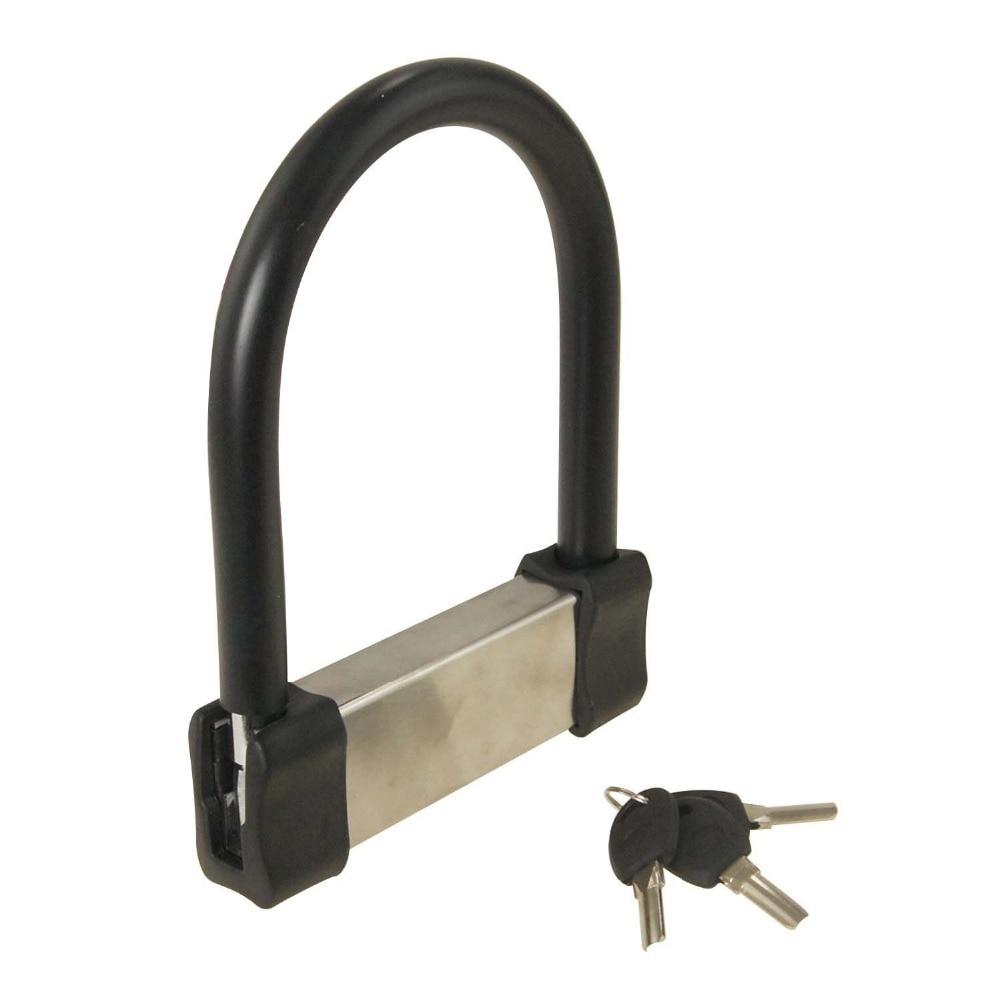 الاهتزاز صفارة إنذار استشعار الفولاذ المقاوم للصدأ قفل دراجة نارية قفل