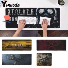 Yinuoda stalker masque logo jeu Durable tapis de souris de bureau gamer claviers tapis caoutchouc jeu tapis de souris tapis de bureau pour cs go gear gamer