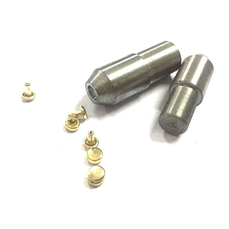 6mm doble sombrero con remaches prensa manual máquina Setter herramienta de fijación