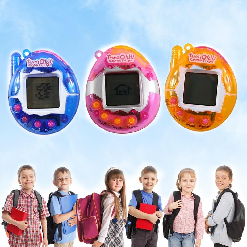 Divertido juguete cibernético Virtual para mascotas, vaso electrónico para mascotas, juego clásico y nostálgico para niño o bebé, regalo electrónico, llaveros de mascotas, Juguetes