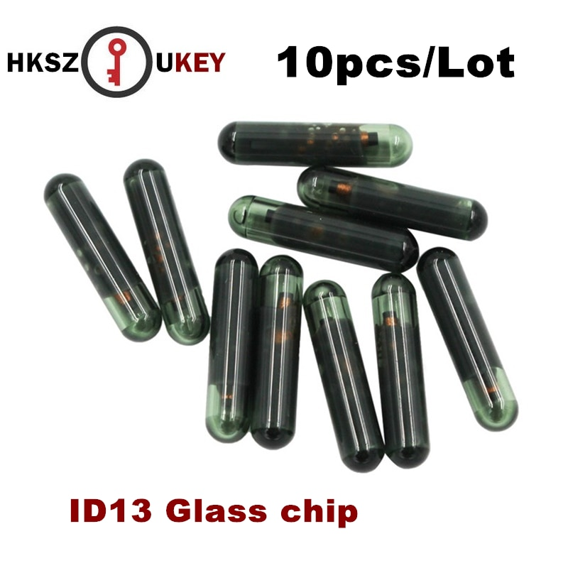 10 pçs/lote Chips ID13 TP03 Em Branco da Chave Do Carro Chip de Auto Transponder Chip ID 13 ID13 Vidro Transponder Chip Para HONDA chave