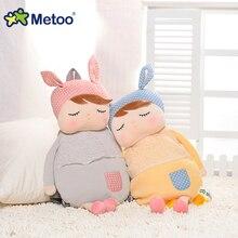 19 pouces Metoo peluche sac à dos lapin poupée enfants sac à dos fille cadeau cartable fille jouets panda lapin lièvre enfants jouets