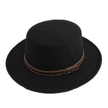 Chapéu de lã de feltro chapéu de chapéu de chapéu de chapéu de chapéu de lã para mulheres