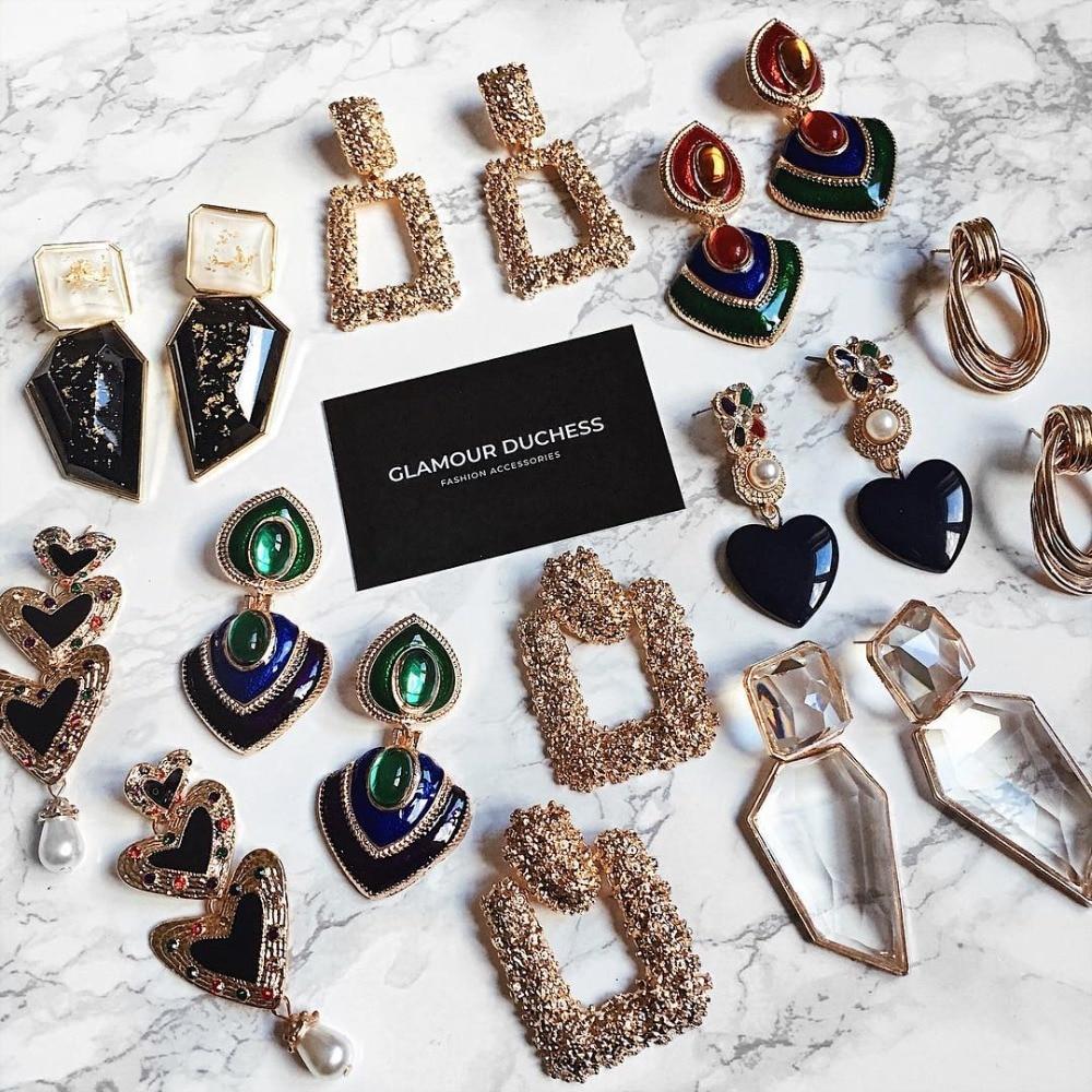 Miwens za metal maxi moda vintage pendurado brincos feminino geométrico boho longo pingente brincos atacado fábrica jóias a218