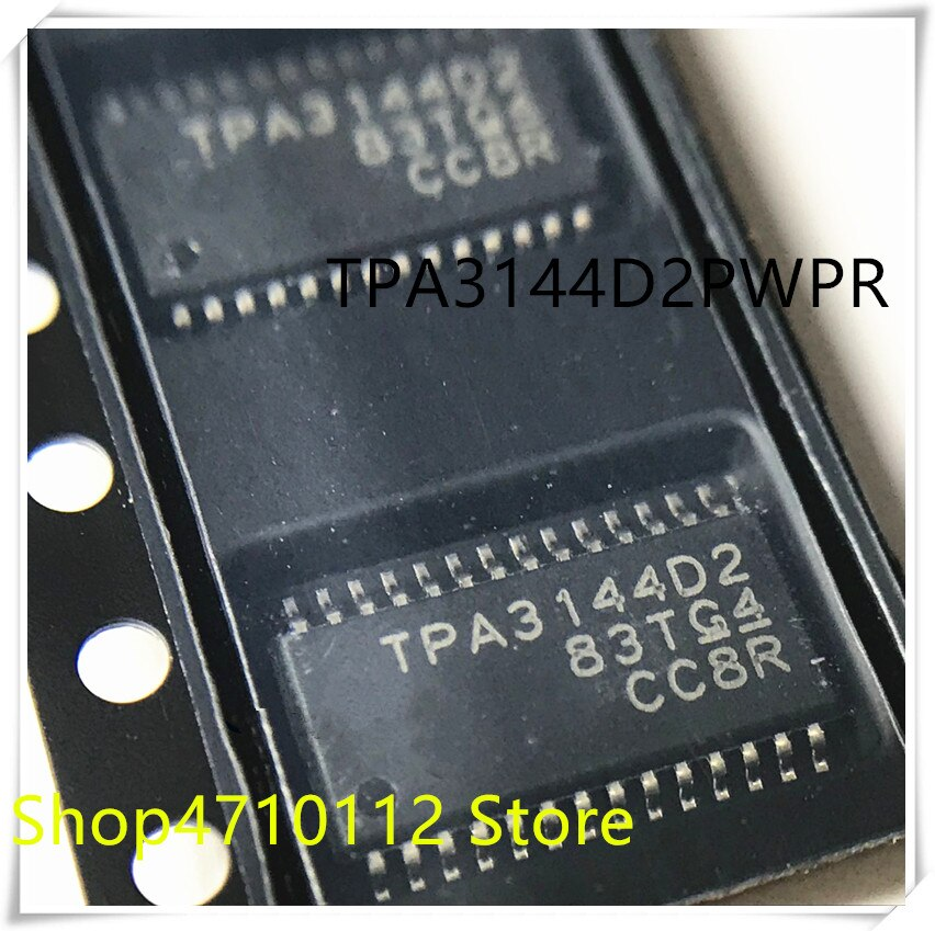 Nuevo 10 unids/lote TPA3144D2PWPR TPA3144D2PWP TPA3144D2 TPA3144 HTSSOP-28 IC