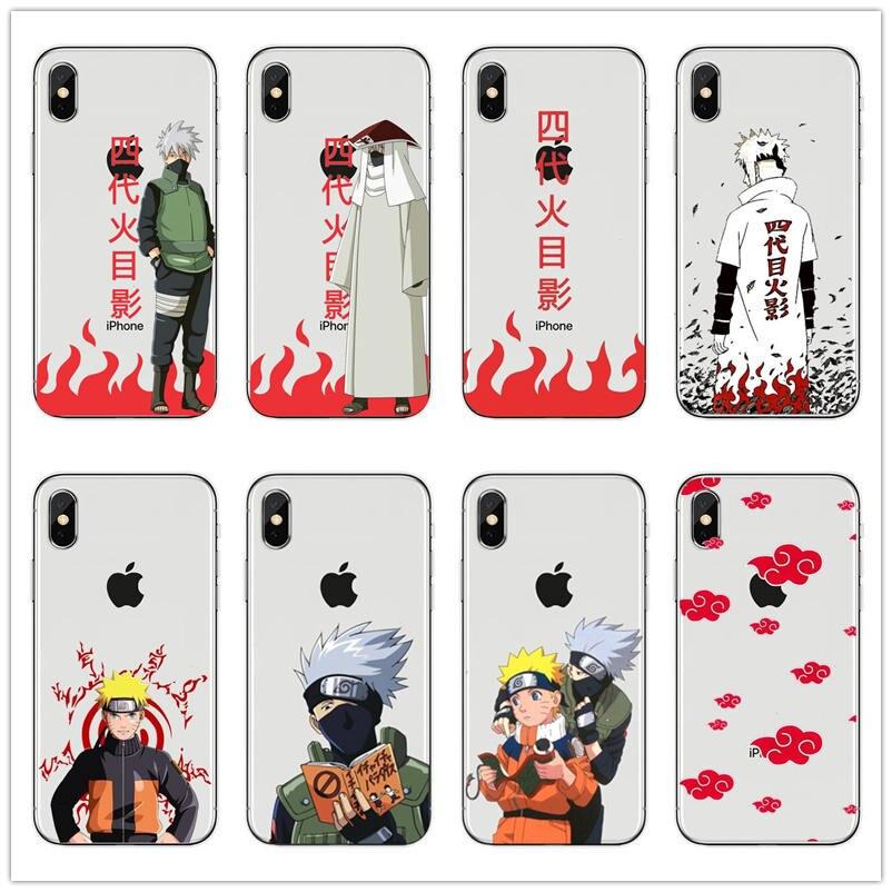Наруто Uchiha sasuke kakashi японский аниме Жесткий ПК чехол для телефона iPhone 10 8 7 6 6S Plus 5 5S SE XR X XS MAX чехол