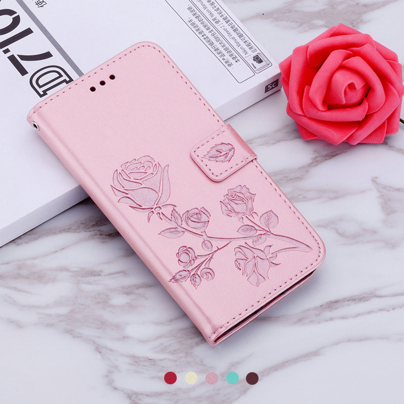 Huawei Honor 8A caso Funda Honor A8 caso 3D billetera color rosa estuche para Huawei Honor 8A Pro caso Honor8A cubierta HonorA8 8 8APro Armadura