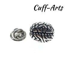 Cuffarts Lapel Pin For Men Brain Lapel Pin Badge Pride Women Accessories  Brooch Hijab Pins Enamel Pin Broche Pusheen P10064