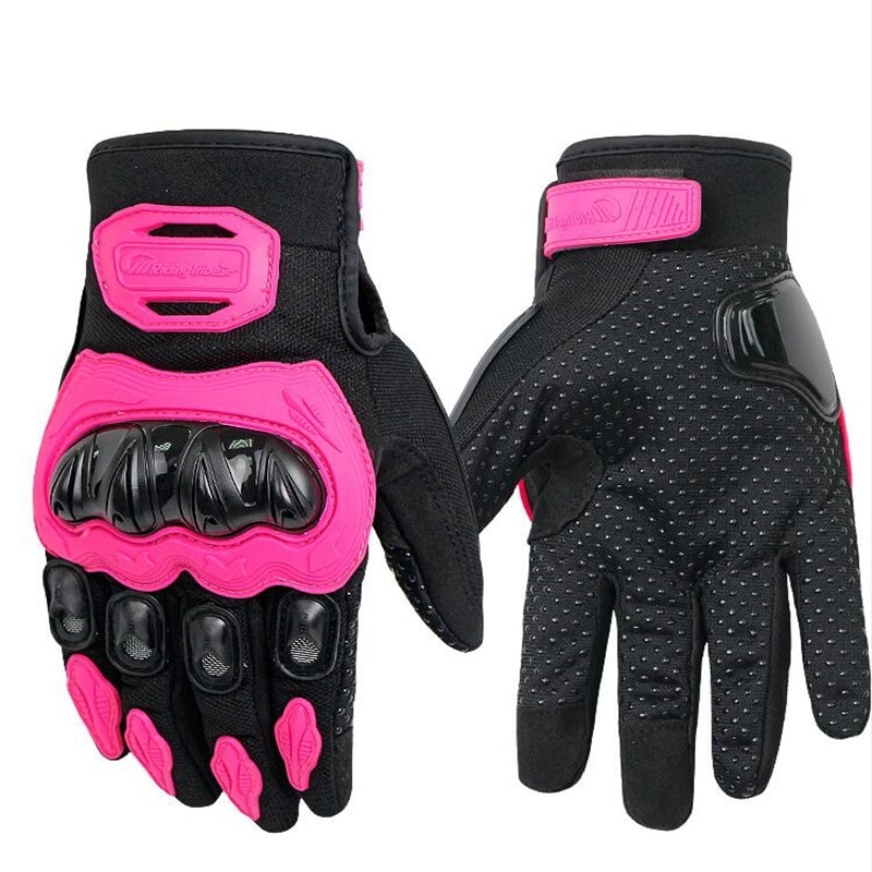 free shipping newest rs 390 full skin perforated carbon fiber glove motorcycle racing gloves full finger 3 size 3 color PRO-BIKER Motorcycle Gloves Full Finger Motorcross Dirt Racing Offroad ATV Riding Scooter Guantes Motocicleta Moto Glove MCS-21