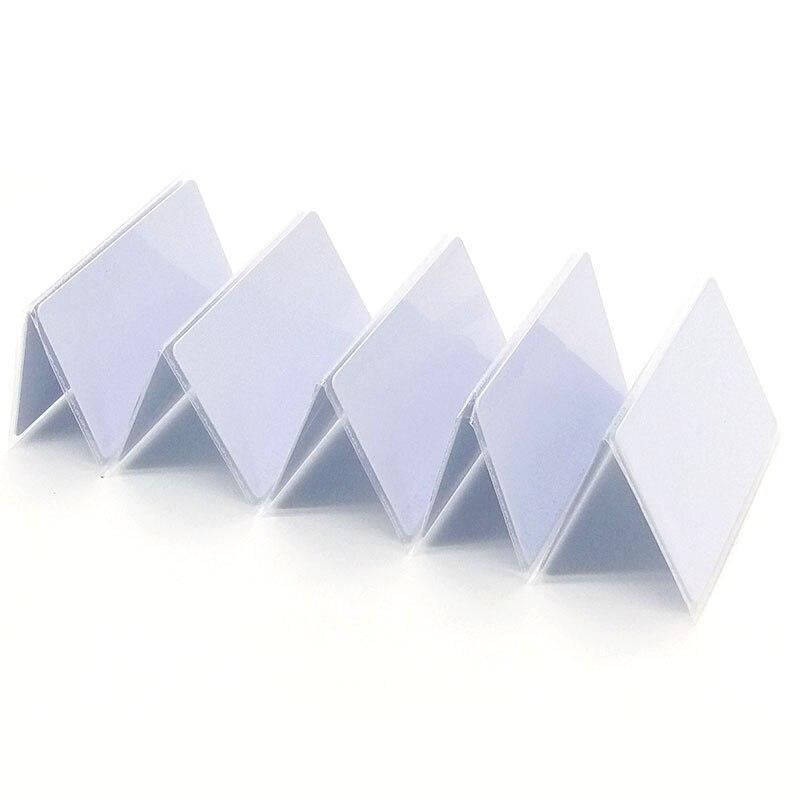 100 Bloco 0 pçs/lote 13.56MHz RFID Cartão UID Regravável Para Cópia Duplicador 13.56MHz IC Cartões RFID Copiadora Escritor tag
