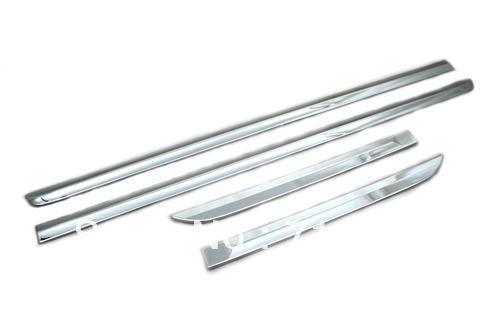 Car Styling Chrome Door Side Molding Trim For Honda CRV 2012 Up