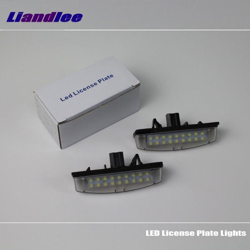Liandlee para Toyota Aurion / Camry XV40 2006 ~ 2011/luz de matrícula de coche LED/foco para marco de matrícula/luces LED de alta calidad