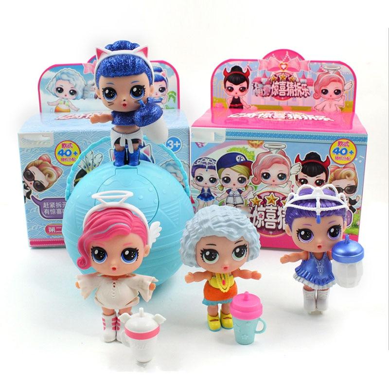 Hot 1pc Eaki Original Lol Reborn Puppe Kinder Puzzle Spielzeug Kinder Lustige DIY Spielzeug Prinzessin Puppe Original Box Multi modelle