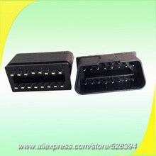10 шт. Универсальный Автомобильный Диагностический Кабель адаптер CNPAM jзубчатый 16 контактный разъем obd ii OBD2 штекер