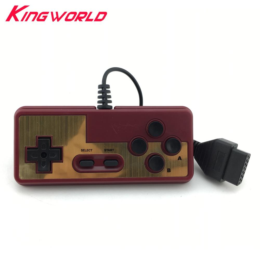 10 قطعة وحدة تحكم كابل التوصيل 15Pin طراز 8 بت لوحدة التحكم NES لوحدة تحكم FC