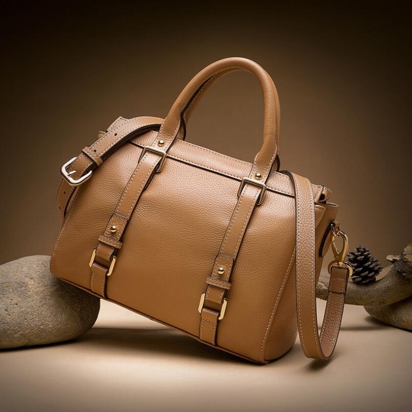 FoxTail & Lily-حقائب يد فاخرة للنساء ، حقائب كتف جلدية أصلية 2020 ، حقيبة كتف من الجلد الطبيعي الشهير