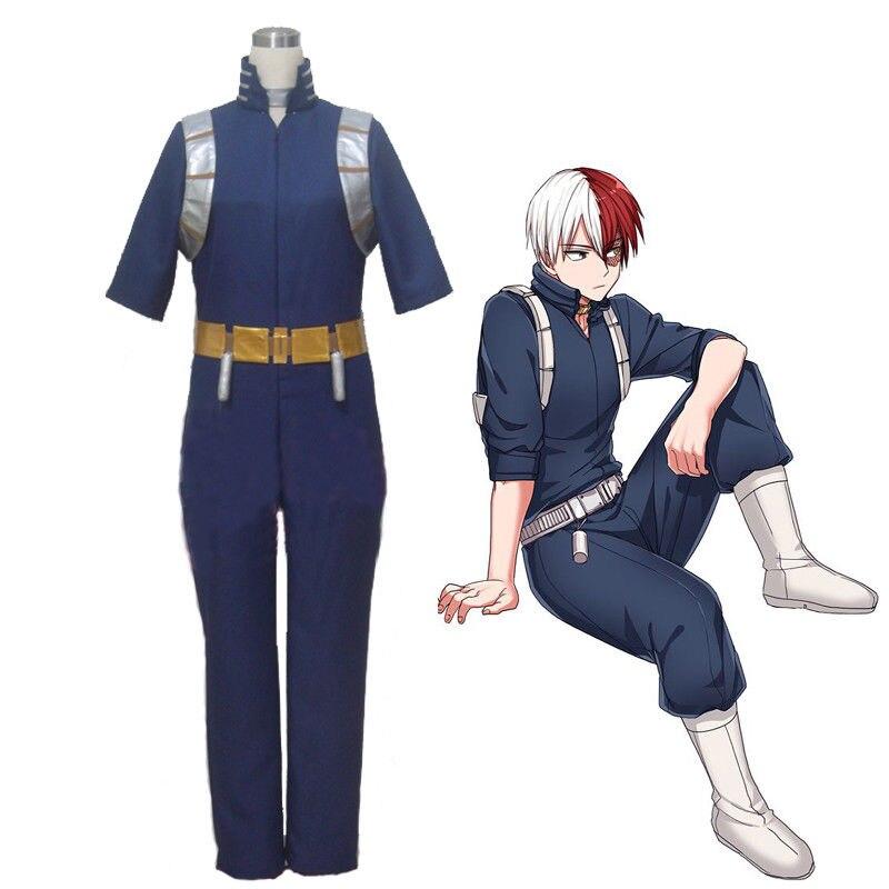 Mi héroe Academia Boku no Hero Academia Shoto Todoroki disfraz uniforme