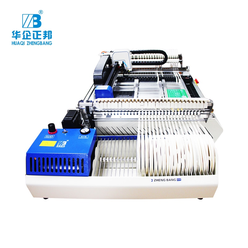 PCB High Speed and Precision Desktop SMT Pick and Place Machine Zb3245tss