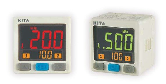 Interruptor de presión digital de Taiwán KP43P-010-F1-C-0,1 ~ 1,0mpa DC12-24V salida NPN 1 ~ 5V