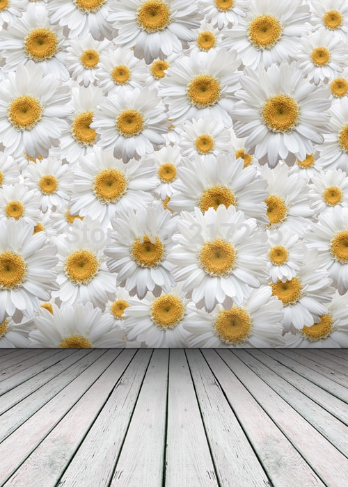 Fondo de fotografía de tela de arte Floral personalizado foto Prop fondos 5ftX7ft D-2280