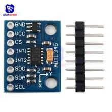 Diymore GY-291 ADXL345 Triple Axis IIC SPI Modulo Sensore di Accelerazione Di Gravità Tilt Board per Arduino Sostituire ADXL335