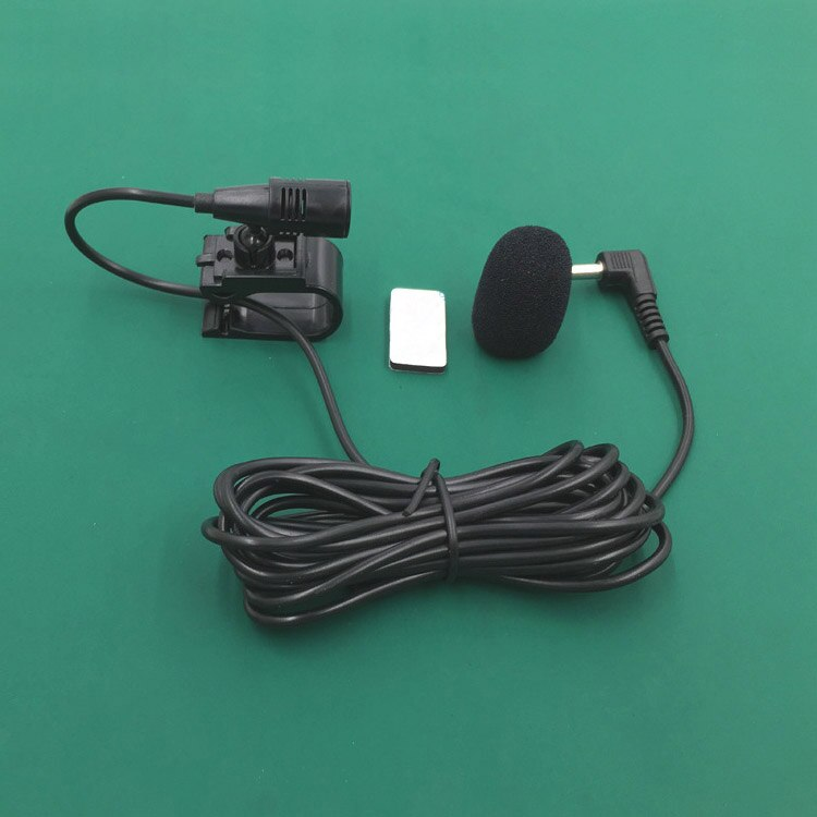 3.5mm microfone estéreo rádio do carro quente bluetooth veículo microfone externo para o jogador gps habilitado áudio dvd j99